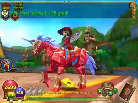 Wizard101 - How I spend my gold or crowns even with max gold