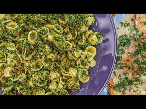 Rachael's Orecchiette with Broccoli Rabe Pesto