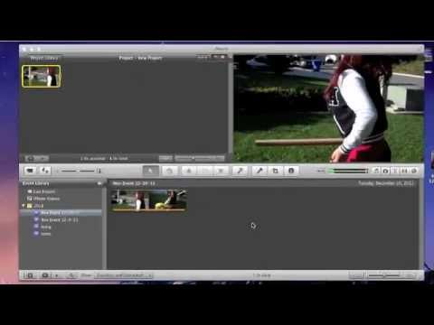 how to put clips in slow motion in imovie 11