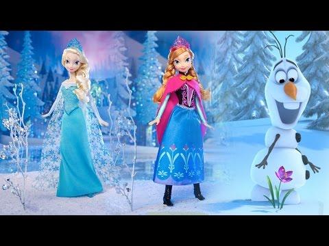 Royal Sisters Gift Set / Anna Elsa i Olaf - Frozen / Kraina Lodu - Disney - Mattel - MegaDyskont.pl