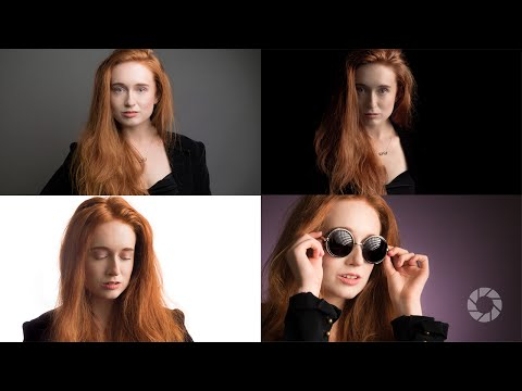 Four Looks, One Gray Background : Take and Make Great Photography with Gavin Hoey
