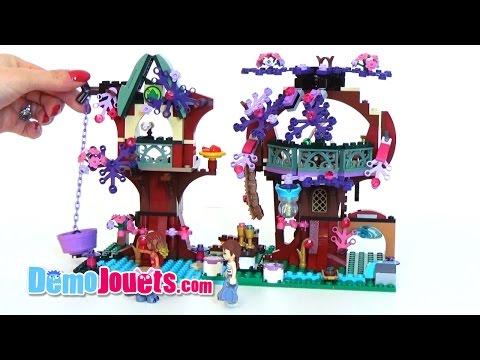 Lego Elves La cachette secrète des Elfes - Lego 41075 - Démo Jouets