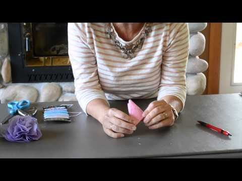 How to Make Tissue Paper Gift Bows