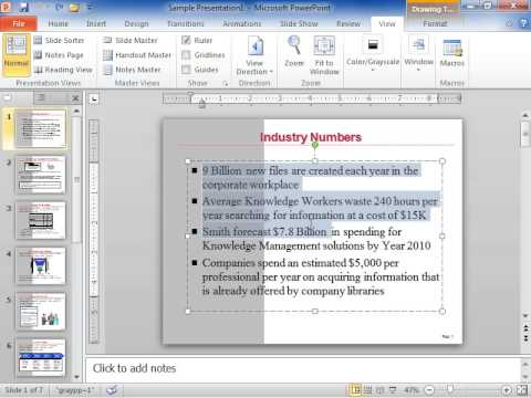 PowerPoint 2010 Change the Spacing between Bullets or Numbers and Text
