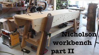 Nicholson workbench part 2 | How-To
