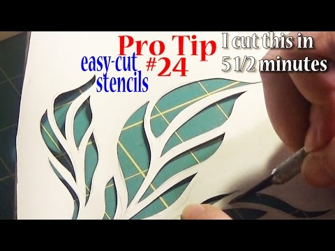 Pro Sewing Tips: #24 | Easy Cut Fabric Stencils | Easy on Your Fingers | ZSA Tutorials