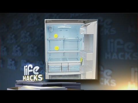 Get rid of tough refrigerator odors