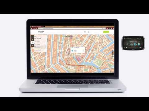 TomTom GO: Using TomTom MyDrive