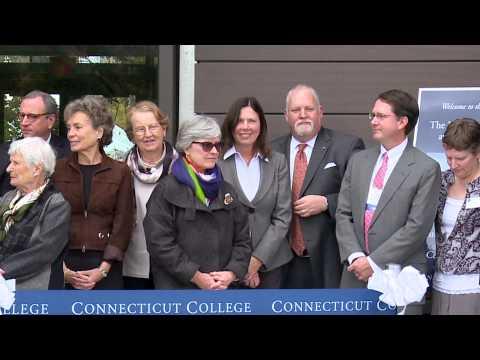 Connecticut College Science Center Dedication!