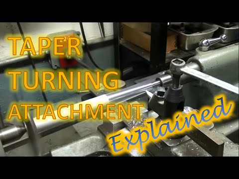 Taper Turning Attachment - Explained