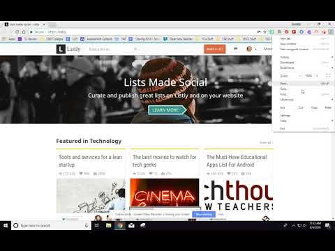 Create Listly Account and Add Listly Extension to Chrome Browser