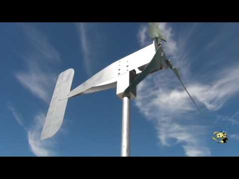 Sparrow low cost portable wind turbine generator ONLY $169.95