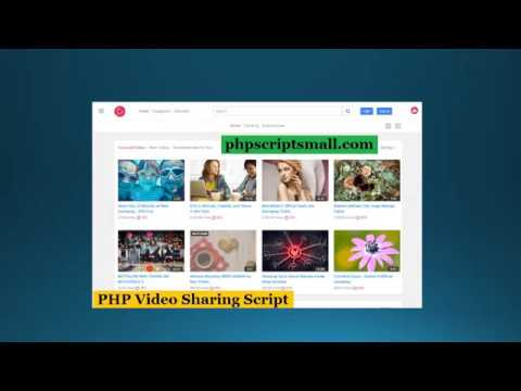 YouTube Clone - Php Video Sharing Script - YouTube Script