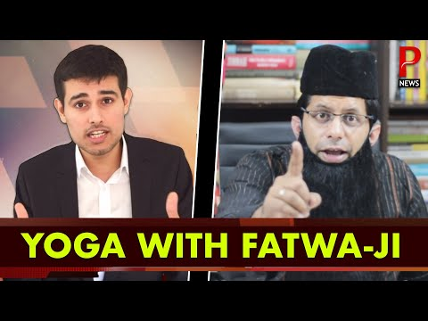 Yoga with Wrong Number Baba |  Pee News Interview ft. Dhruv Rathee & Akash Banerjee