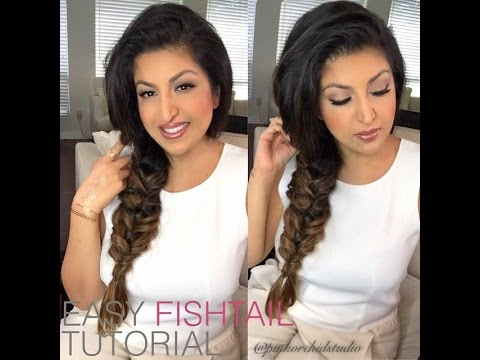 Fishtail Braid Tutorial by Pink Orchid Studio