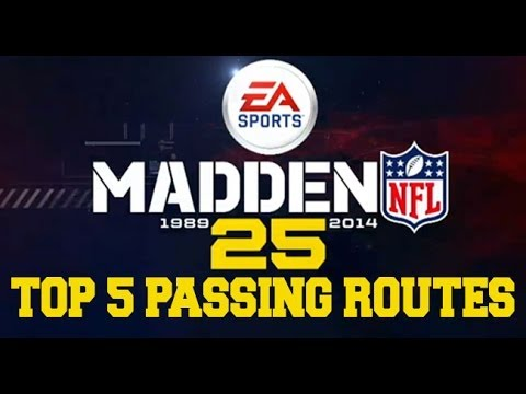 Madden 25 Top 5 Passing Routes