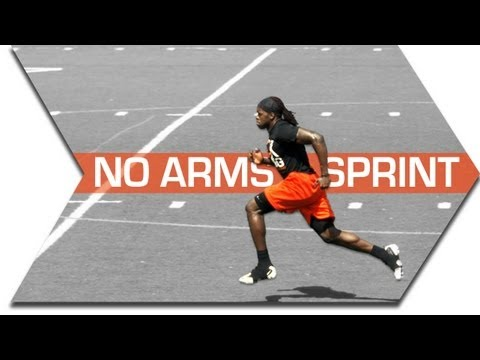 SPRINT FASTER - NO ARMS INTO SPRINT