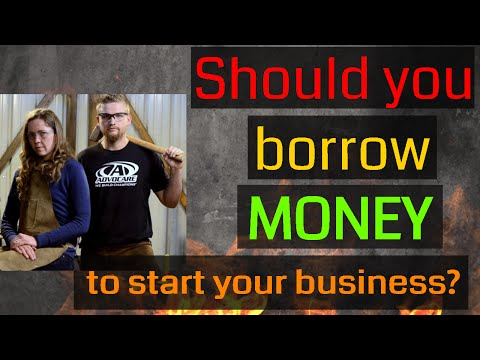 Should You Borrow Money to Start Your Blacksmithing Business? Our Thoughts and Experience