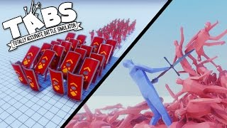 TABS - Giant Swordsman and New Battle Formations! - Totally Accurate Battle Simulator