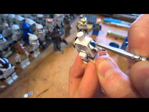 How To Paint Tutorial - With Star Wars Clone Trooper Dogma (HD)