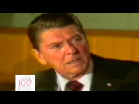 Donald Trump has a Reagan Attitude?