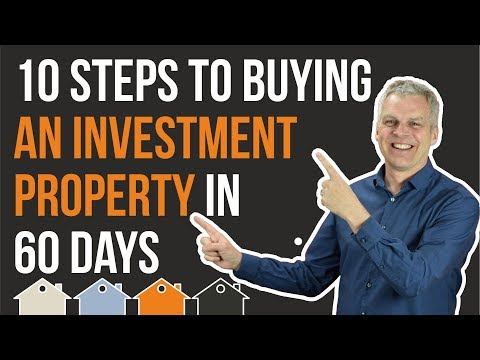 How To Buy A Property Investment In 60 Days | 10 Buy To Let Steps To Help Build Your Portfolio