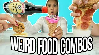 We Tried Weird Food Combinations that People Actually Love! ft. Dennis