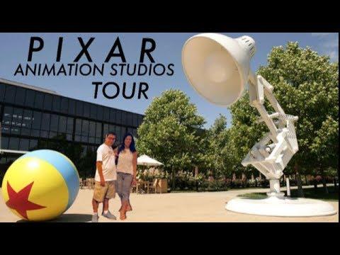 PIXAR STUDIOS BEHIND THE SCENES TOUR