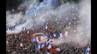 """Breaking """"France Gone Wild"""" Riots, Tear Gas, Looting 2 Dead World Cup Celebrations"""