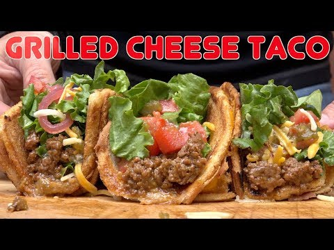 Grilled Cheese Taco: (Fun Lunch Idea) How to make grilled Cheese Tacos