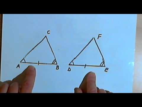 Triangle Congruence - SSS, SAS, ASA and AAS 128-2.16
