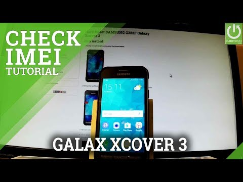 SAMSUNG Galaxy Xcover 3 IMEI INFORMATION / Check IMEI / READ SN
