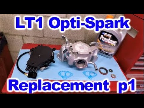 LT 1 Opti Spark Distributor and Water Pump Replacement Part One