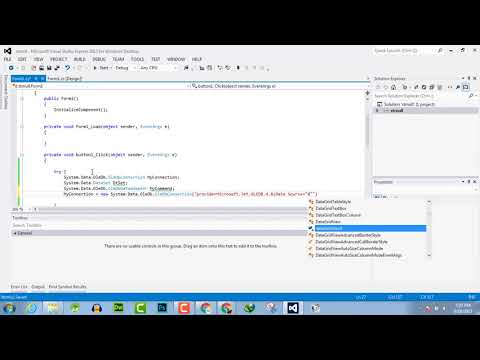113 - Read and Import Excel File into DataSet or DataTable C#