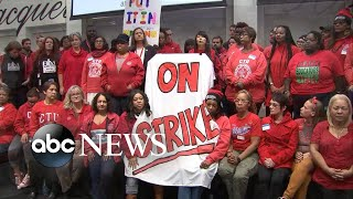Teachers go on strike in Chicago l ABC News