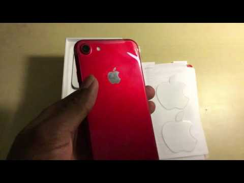 Unboxing: iPhone 7 - (PRODUCT)RED