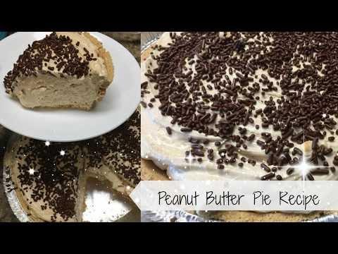 """Recipe """"Creamy Peanut Butter Pie"""""""