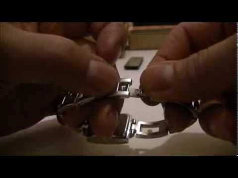 How to tighten a loose clasp on a watch.  ayoswatches