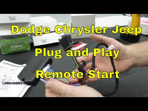 How To Pre-Wire A Dodge Jeep Chrysler plug and play Remote Start