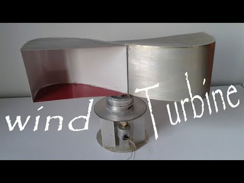 How to Make Free Energy Wind Turbine diy project