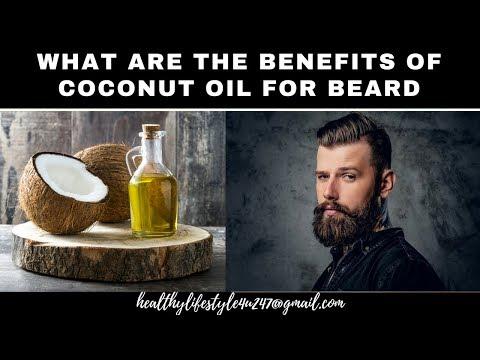 coconut oil for beard  👳♂️👳♂️👳♂️