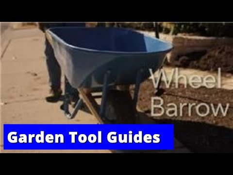 Garden Tool Guides : How to Use a Wheel Barrow