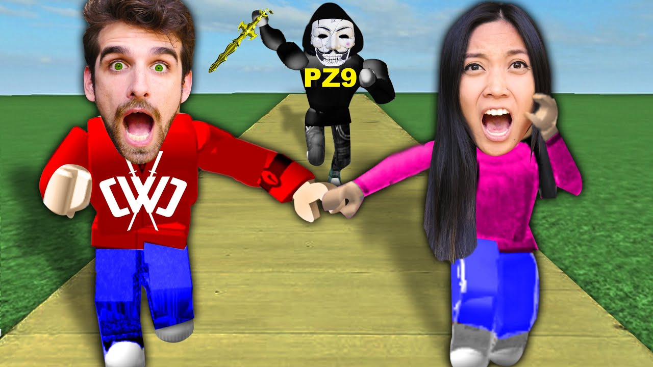 WE GOT HACKED PLAYING ROBLOX! Last To Spy on Hacker Best Friend PZ9 in Game Wins 24 Hours Challenge
