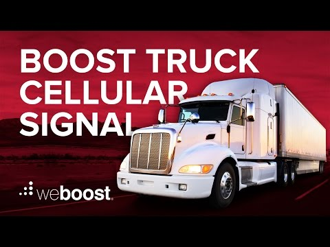 Drive 4G-X OTR Cell Phone Signal Booster | weBoost