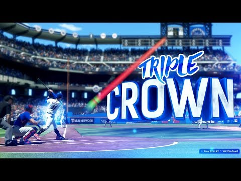 THE TRIPLE CROWN WINNER! MLB The Show 18 Road To The Show