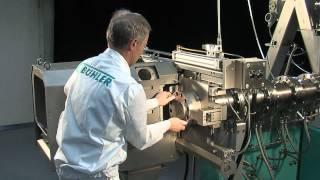 Bühler Group - Extruder in operation