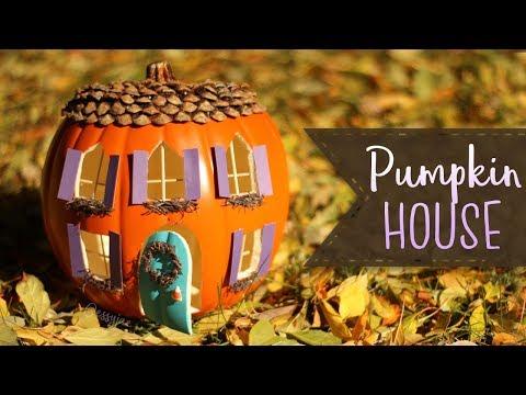 How To Make A Pumpkin House 🎃   Pumpkin Carving Ideas | BOOtorial