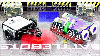 BATTLEBOTS Hexbug Arena R/C Tombstone vs Witch Doctor Set Review | StephenMcCulla