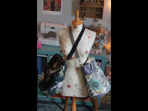 How to sew a convertible backpack hip crossbody shoulder bag