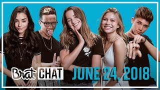BRAT CHAT | Annie & Grant | 6.24.18